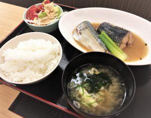 ①本日の煮魚定食☆さばのみそ煮