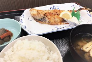 ①赤魚の干物☆本日の焼魚定食